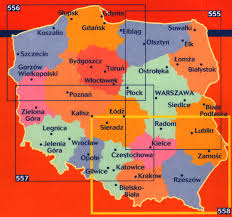 Map Poland Poland Buy Maps And Travel Guides Online