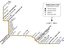Bus Route Map Valley Metro Bus Map Valley Metro Bus Route Map Arizona Usa