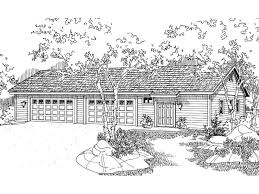 8 car garage plans 8 car garage plan with 4 tandem bays design