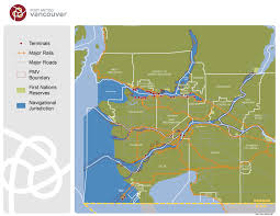 Vancouver Canada Map by Port Metro Vancouver Jurisdictional Map U2013 Port Of Vancouver