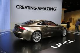lexus lf lc sedan lexus lf cc concept this is what an is coupe may look like