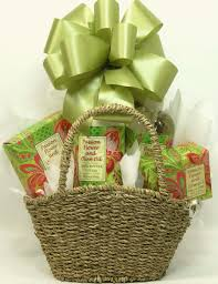 anything in a blog all about gift baskets