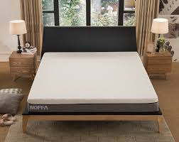 noffa 10 inch mnemory foam mattress firm universal comfort pain