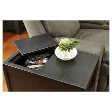 ashley gavelston end table gavelston chair side end table rubbed black signature design by
