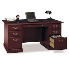 Bush Ex45666 03k Saratoga Collection 66 Manager S Desk Free Shipping