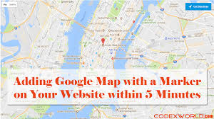 g00gle map adding map on your website within 5 minutes codexworld