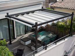 modele de terrasse couverte pergola restaurant cannes velums restaurant avignon nice