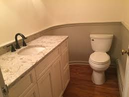 Orange Powder Room Powder Room Renovation In Basking Ridge Nj Monk U0027s Home Improvements