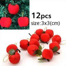 apple ornaments ebay