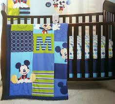 Mickey Mouse Crib Bedding Sets Disney Baby Infant Boy S 4 Mickey Mouse Crib