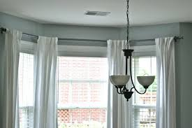 Window Curtain Double Rods Bay Window Curtain Rod Double Bay Window Curtain Rod Find The