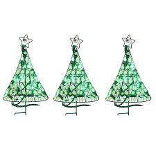 shop holiday living 40 count led mini green christmas pathway
