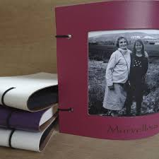 Leather Photo Albums Engraved Engraved Leather Photo Frame By Artbox Notonthehighstreet Com