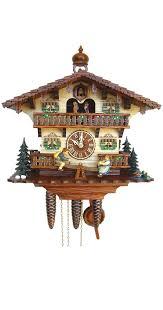Ebay Cuckoo Clock Clocks Cuckoo Clocks 8 Day Movement Chalet Style 44cm For Wall