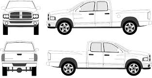 2011 dodge ram 1500 extended cab 2005 dodge ram 1500 extended cab shortbox truck blueprints