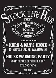 stock the bar party stock the bar party invitations stock the bar party invitations by