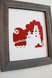 wedding gift japan japan japanese castle personalized gift or wedding gift 26 00