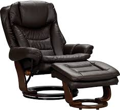 Burgundy Leather Chair And Ottoman The Flynn Brown Chair Is Luxurious In Both Comfort And Style With