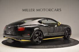 matte bentley 2017 bentley continental gt speed black edition stock b1179 for