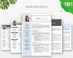 Teacher Resume Templates Word Teacher Resume Template For Word U0026 Pages 1 3 Page Resume For