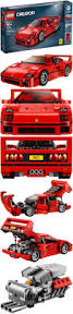 lego ferrari f40 wheels ferrari f40 1994 gold medal speed red w gold w 3sp u0027s by