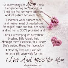 heaven needed a mother birthday poems memorial cards and in