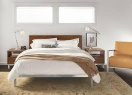 Room And Board Bed Frame Board Copenhagen Bed In Walnut King