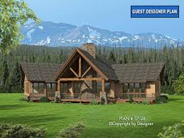 Rustic Log House Plans House Plan 37 28 Vtr House Plans By Garrell Associates Inc