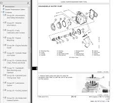 john deere 6076 diesel engine component technical manual ctm6