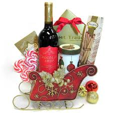 christmas wine gift baskets christmas baskets florals and christmas trees orlando fl