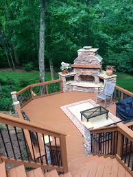 fire pit wood deck deck building codes archadeck of charlotte