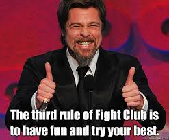 Fight Club Memes - fight club with brad pitt fight club know your meme