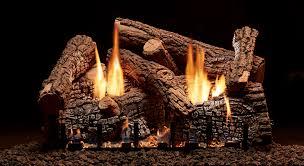 traditional log sets american hearth
