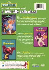 get ready to and move sesame 3 dvd gift collection