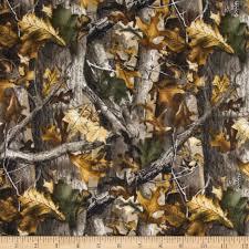 realtree flannel oak camouflage discount designer fabric