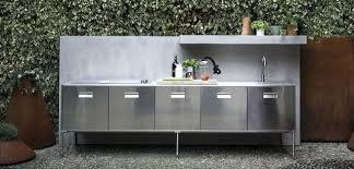 meuble cuisine exterieur inox meuble cuisine exterieur inox cuisine artusi outdoor inox prix sur