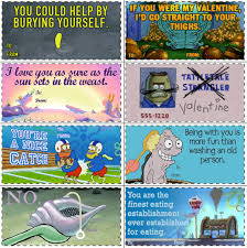 spongebob valentines day cards image 697871 s day e cards your meme
