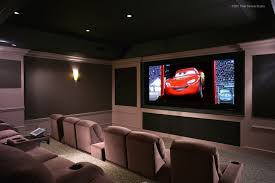 Rooms Design by Best Home Theater Room Ideas Inspiration Also Brown Chair And