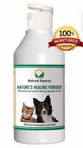 nature u0027s healing powder by natural sources 100 natural flea