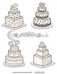 wedding cake clipart modern cake clipart explore pictures