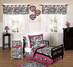 Pink Black And Zebra Bedroom Ideas • White Bedroom Design