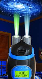 amazon com discovery kids rocketship projection alarm clock toys
