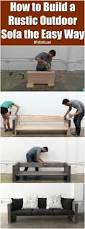 How To Make A Small Bench Diy How To Make A Small Wooden Couch Plans Free Diy Sectional Sofa