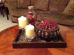 coffee table decor potpourri and candle holder boom easy