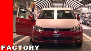 volkswagen germany factory 2017 vw golf production factory plant youtube