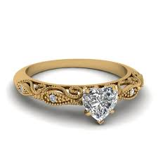 engagement rings yellow gold heart shaped paisley diamond ring in 14k yellow gold fascinating