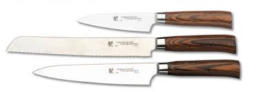 Tamahagane Kitchen Knives 100 Tamahagane Kitchen Knives 3pc Boxed Set Sn 1105 1108