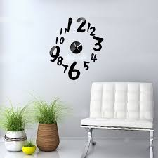 Decorative Wall Clocks For Living Room Online Get Cheap Large Kitchen Clocks Walls Aliexpress Com