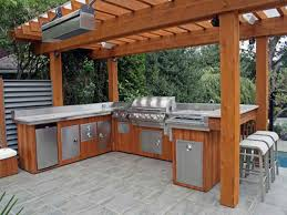 Bbq Kitchen Ideas Outdoor Barbecue Ideas Outdoor Kitchen Designs With Smoker