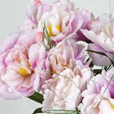 silk flowers wholesale 60 silk peony lavender silk flowers factory